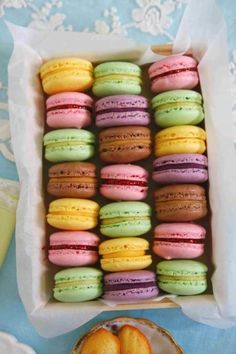 So pretty & so tasty! We have these in store at The Ladurée. Thank you Caitlyn Chang.