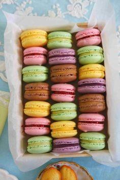 Macarons de Ladurée, alla vamos !