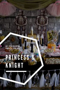 Favorite Birthday Party Idea for Girls and Boys. The Princess and Knight Party to Go Box from My Princess Party to Go. Dress Up, Favors, Crafts, Games and more shipped fast to your door. #princesspartyideas