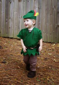 Live a Little Wilder: a peter pan halloween - DIY toddler costume
