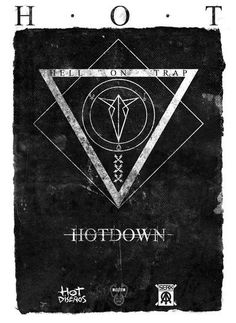 Hell On Trap Symbol by Hot Diseños, via Behance