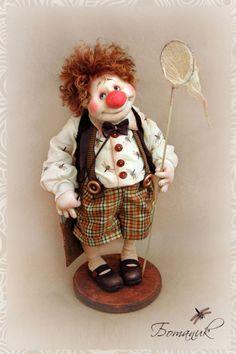 Авторские куклы Светланы Михайловой. Жил на арене рыжий клоун.... Обсуждение на LiveInternet - Российский Сервис Онлайн-Дневников