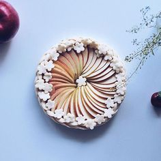 * * Apple Pie  * * アップルパイ焼く前だよー。
