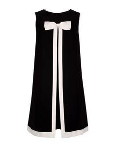 Bow detail dress - Black   Dresses   Ted Baker