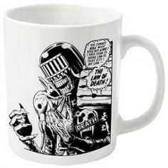 2000 AD Judge Death Coffee Mug