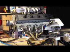 ▶ Model V8 engine electronic fuel injection. Put that on your skateboard.