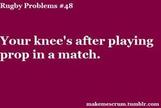 you're knee's after playing prop in a match #truth #frontlinelove