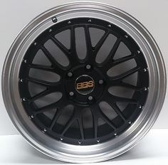 """19"""" alloy #wheels 5x120 matt #black #polished lip to fit bmw 3 series m3   set of,  View more on the LINK: http://www.zeppy.io/product/gb/2/171897349580/"""