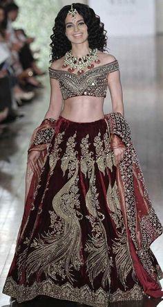 Manav Gangwani at India Couture Week 2016