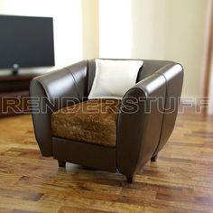 Renderstuff Leather armchair by Renderstuff Team.