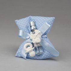 Cuscino in cotone a pois con profumabiente e gessi profumati