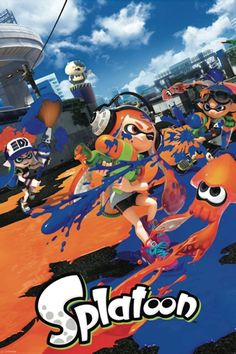 Splatoon Gaming Poster Order TODAY - SPECIAL EDITION Limited Print! Ships securely today in a crush proof poster shipping tube: Click here for more Posters!