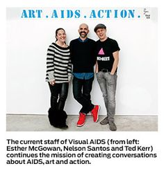 """Visual AIDS fought early major battles against the virus with its """"Day Without Art"""" and the Red Ribbon. Twenty-five years later, it continues to arm HIV-positive artists."""