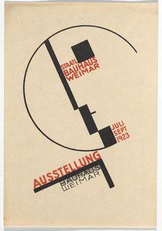 Dorte Helm. Bauhaus Ausstellung Weimar Juli–Sept, 1923, Karte 14. 1923. Lithograph, 5 7/8 × 3 15/16″ (15 × 10 cm). Committee on Architecture and Design Funds. Photo: John Wronn