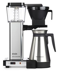 Moccamaster KBGT 10-Cup Coffee Brewer with Thermal Carafe +More - Special Values of the Week