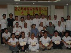 Junto a los compañeros de Xing Yi en la ceremonia de discipulado