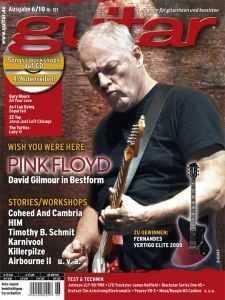 David Gilmour Guitar Magazin (6÷2010)