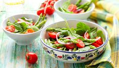Ernährungsplan: Lauwarmer Spinat-Nudel_Salat