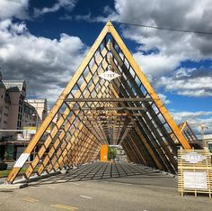 this design is inspired by the langhus a typical home from the Viking era as well as a fish rack. walking through he langhaus i felt the pyramid energy the sacred geometry vibrating in my body. Nordic magic! . . . #sacredgeometry #geometry #geometric #spiritual #spirituality #magic #architecture #design #perspective #nofilter #travel #travelgram #traveling #travelphotography #oslo #norway #europe