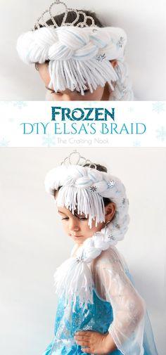Frozen DIY Elsa's Br