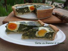 diana's cakes love: Tarta cu branza si spanac