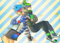 ARMS Spring man x Ninjara by にじ (@nijihara_) | Twitter