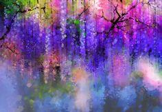 Artwork: Purple Flowers