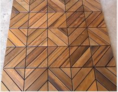 Roof wood flooring