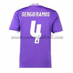 Real Madrid Fotballdrakter 2016-17 Sergio Ramos 4 Bortedrakt