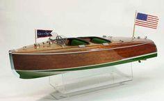 1930 CHRIS CRAFT Model Boat Kit By Dumas Models