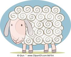Google Image Result for http://images.clipartof.com/small/98754-Royalty-Free-RF-Clipart-Illustration-Of-A-White-Sheep-With-Curly-Hair.jpg