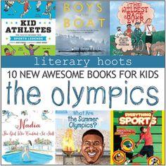 Literary Hoots: 10 New Sports & Olympics Books for Kids