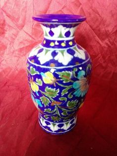 For Buying beautiful Blue Pottery Flower pots, Contact to Shivkripa Bluepottery.   CALL US: 9928943322