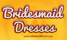 Visit this site http://elitebridal.com.au/bridesmaid-dresses-brisbane/ for more information on Bridesmaid Dresses. Bridesmaid Dresses come in all shapes, colors and styles. Picking an appropriate Bridesmaid Dresses can be overwhelming. Many brides choose bridesmaid dresses that are all the same color and style. Follow us: http://about.me/formaldresses