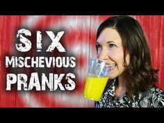 6 Mischievous Tricks & Pranks - for April Fools' - YouTube