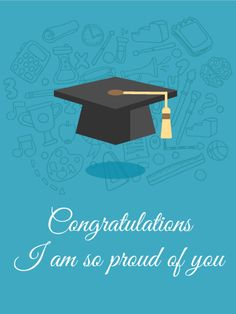 Birthday Msgs, Happy Birthday Art, Card Birthday, College Graduation Quotes, Graduation Images, Graduation Cards, Congratulations Images, Congratulations Graduate, Birthday Greeting Cards