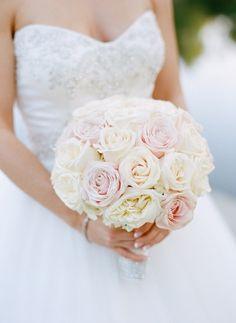 White Rose Bouquet, Flower Bouquet Wedding, Floral Wedding, Wedding Boutiques, Wedding Bells, Wedding Gowns, Spring Wedding, Dream Wedding, Celebrity Weddings