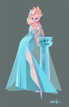 Another drawing of ELSA by Victoria Ying