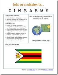 Zimbabwe and their flag..