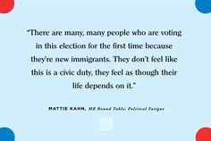 Mattie Kahn - Election Fatigue