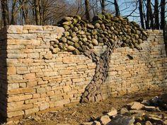 garden wall.
