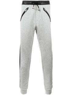 JUST CAVALLI lateral stripes sweatpants. #justcavalli #cloth #sweatpants