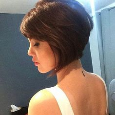Wanna see Stylish A-Line Bob Haircut Ideas for ladies who want to go with a trendy and eye-catching bob hairstyles? Take a look at our gallery and be inspired! Blonde Bob Haircut, Lob Haircut, Lob Hairstyle, Bob Haircuts 2017, Short Bob Haircuts, Cute Bob Hairstyles, Inverted Bob Hairstyles, Short Hair Cuts For Women, Short Hair Styles