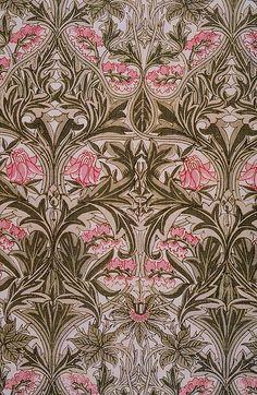William Morris 'columbine' 1876 by The Textile Blog, via Flickr