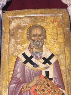 Russian Icons, Byzantine Icons, Saint Nicholas, Orthodox Icons, Mona Lisa, Saints, Artwork, Sketchbooks, Museums