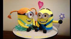 Minion love Cake