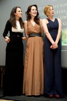 the crawley sisters in real life - Oh how I love downton abbey