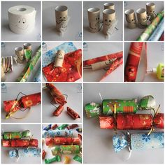 DIY Candy Shaped Candy Box from Toilet Paper Roll  https://www.facebook.com/icreativeideas