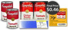 Campbell's Condensed Soups, Only $0.46 at Walgreens!