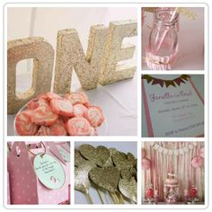 Pink & Gold Birthday Party